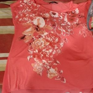 Woman blouse short sleeve
